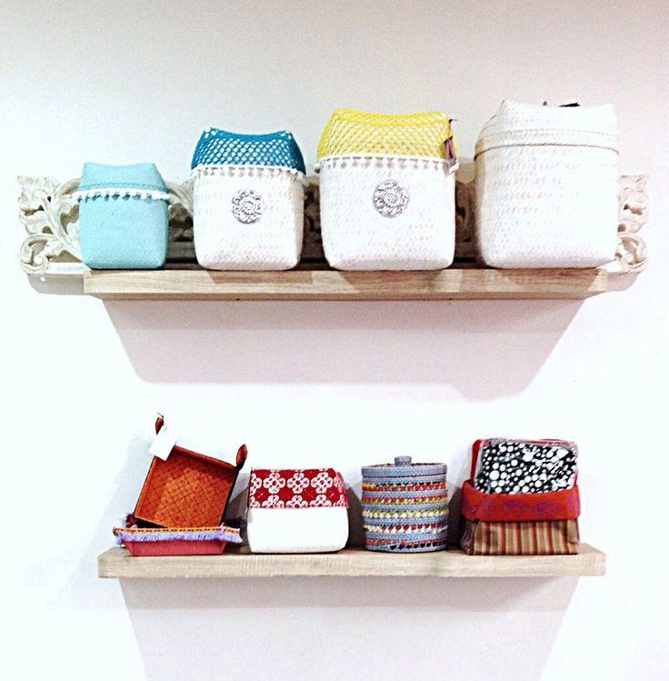 Crochet baskets for Tan Living