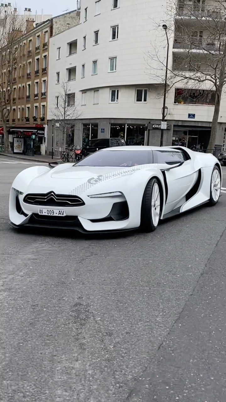 Alex That Girl With The Cars On Instagram This Is The Citroen Gt It Was Made For The Playstation Game G In 2020 Super Cars Best Luxury Cars Classic Cars Trucks