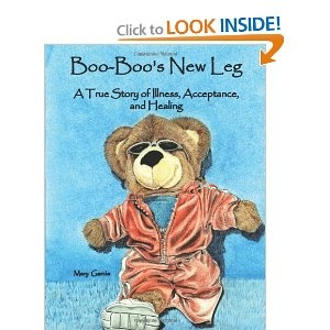 Boo Boo's new leg  Actually, this is MY children's book debut and a friend was awesome to be the first to pin it!