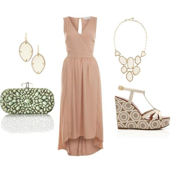 For the wedding. Love the style, would like a brighter color. beach #wedding #guest #outfit
