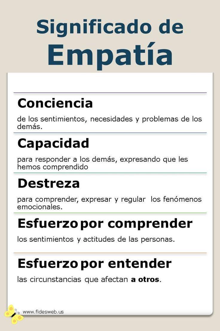 Significado de empat a ejemplos de empat a alerta for Origen de las oficinas