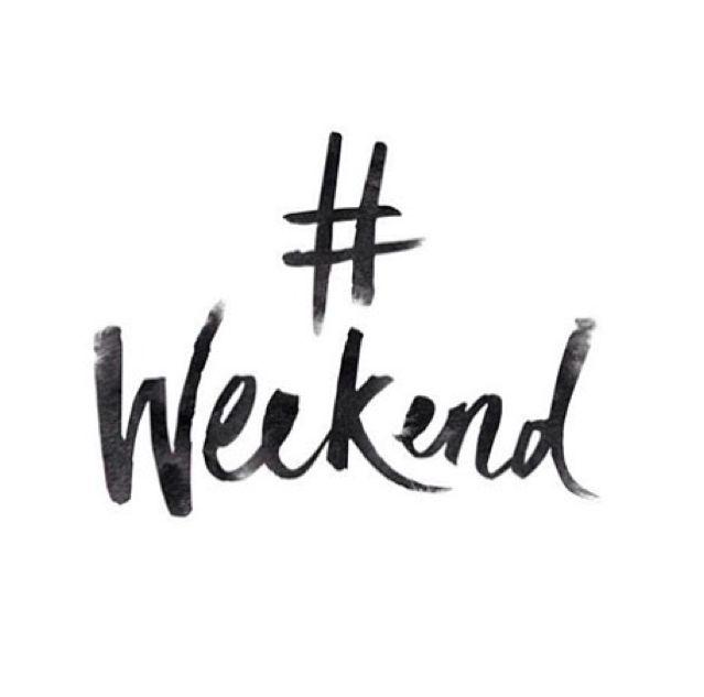Le hashtag le plus attendu de la semaine ! Qu'avez vous prévu pour ce weekend ? ► www.verymojo.com ◄
