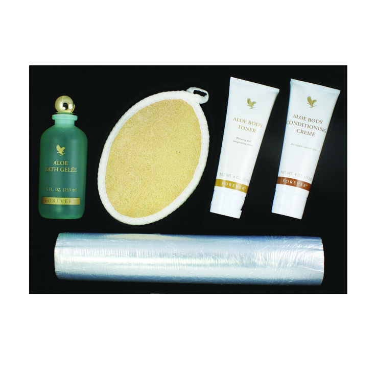 Aloe Body Toning Kit - Up to 8 body wraps makes this an exceptionally good value gift - far cheaper than going to a salon and with great results too! www.endlesslyaloe.co.uk