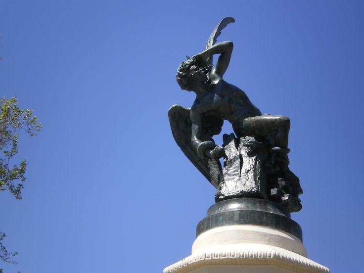 El ángel caído. Madrid