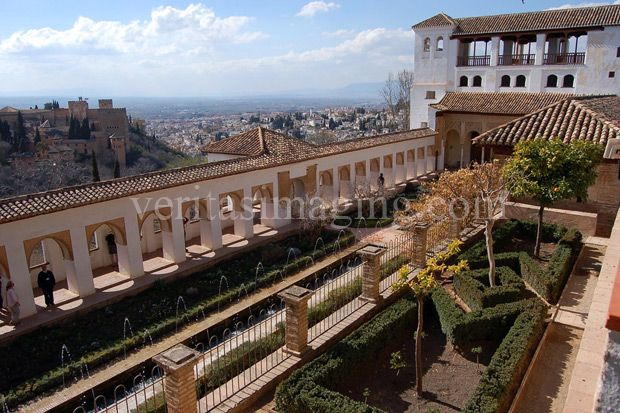 #travelphotos #stockphotography #Spain #gardens #Granada