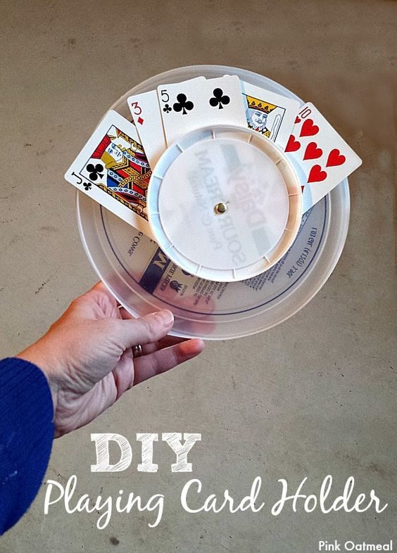 DIY Playing Card Holder: