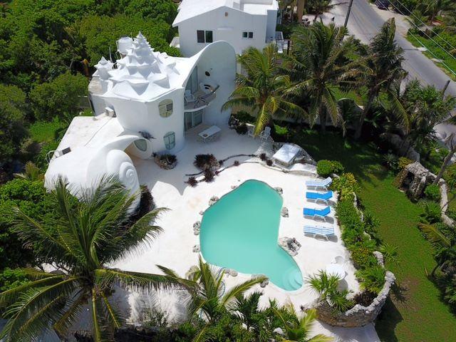 Этот невероятный дом русалки  #дом #SeashellHouse #Ариэль #Русалка #туризм