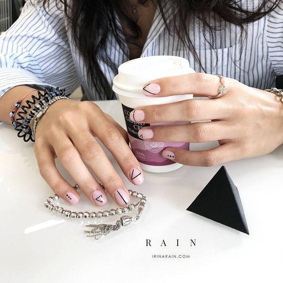 Дизайн ногтей   AW 17-18: лучшие идеи и фото модного маникюра в 2018 году
