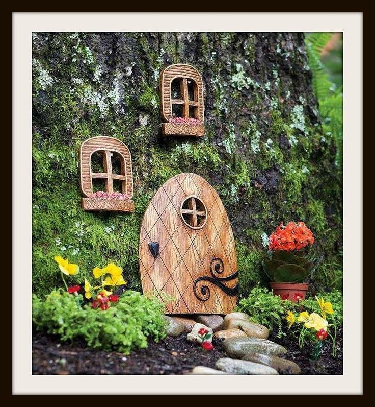 17 best images about garden fairy bedroom theme on for Outdoor fairy door