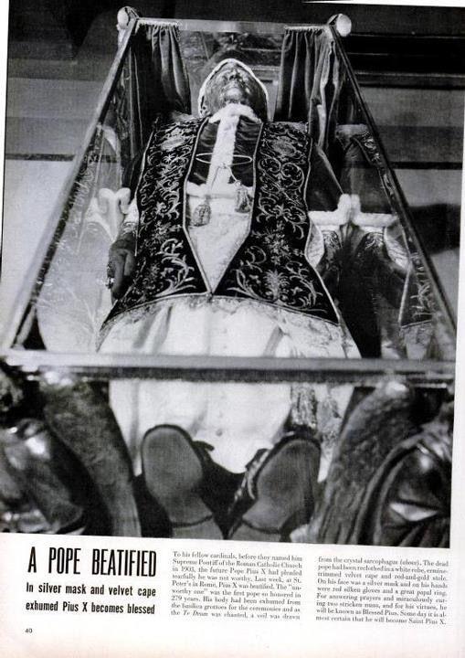 Beatification of Pope Pius X