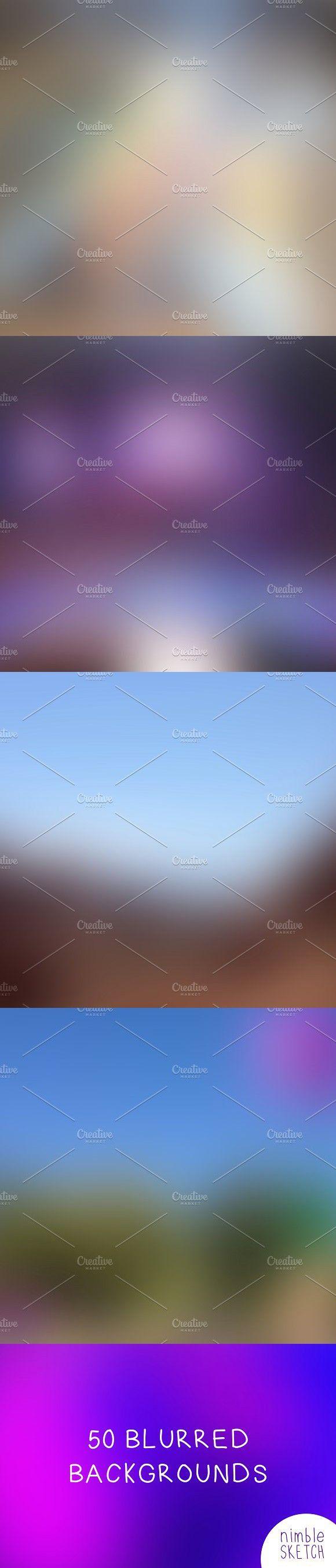 50 Blurred Backgrounds. Wallpaper #backgrounds #blurred