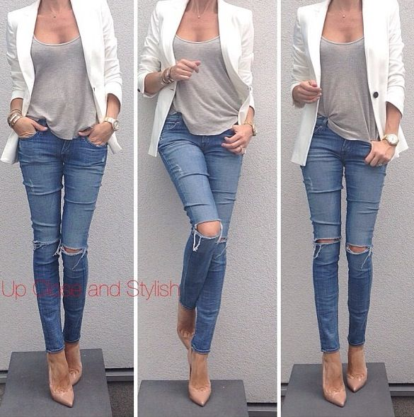 17 Best images about How to wear jeans on Pinterest | Chunky ...