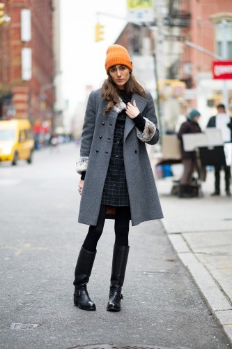 17 winter street style snaps from around the world! Photo by YoungJun