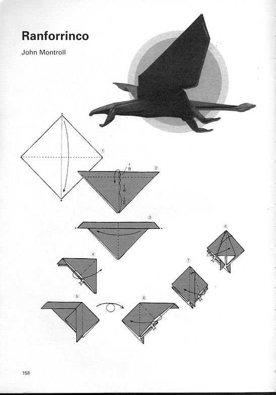 kunihiko kasahara y Toshie Takahama (Papiroflexia) - Origami para expertos 157_page157