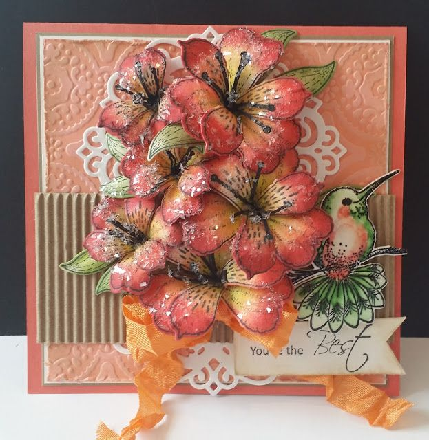 Lily by DJRants - Cards and Paper Crafts at Splitcoaststampers