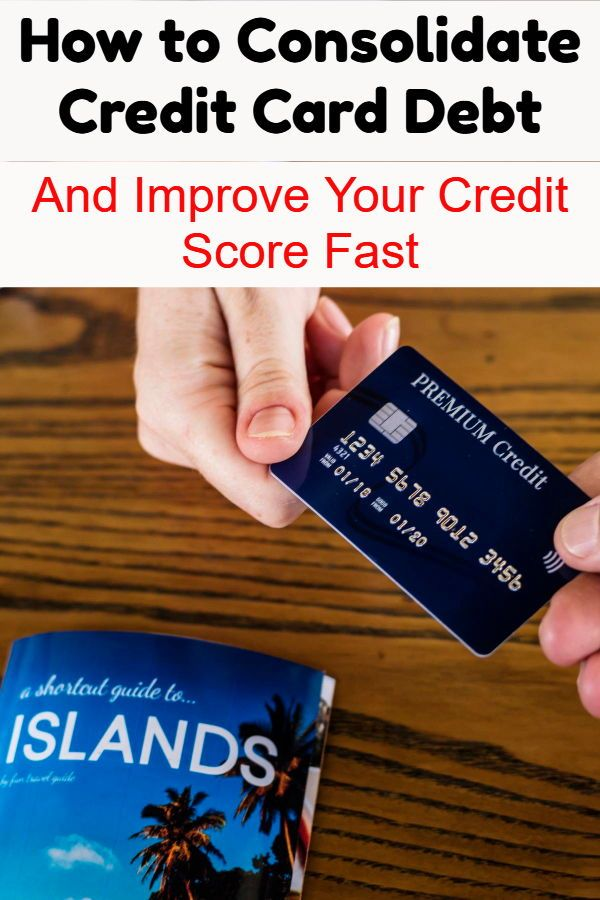 Consolidating credit card student loan debt
