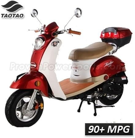 CY50-B Vetas TaoTao Adult 50cc Gas Moped Scooter - Proven Power Sports