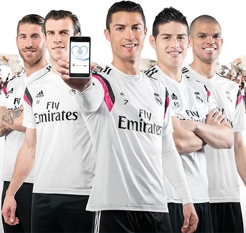 """Launch of Real Madrid App 