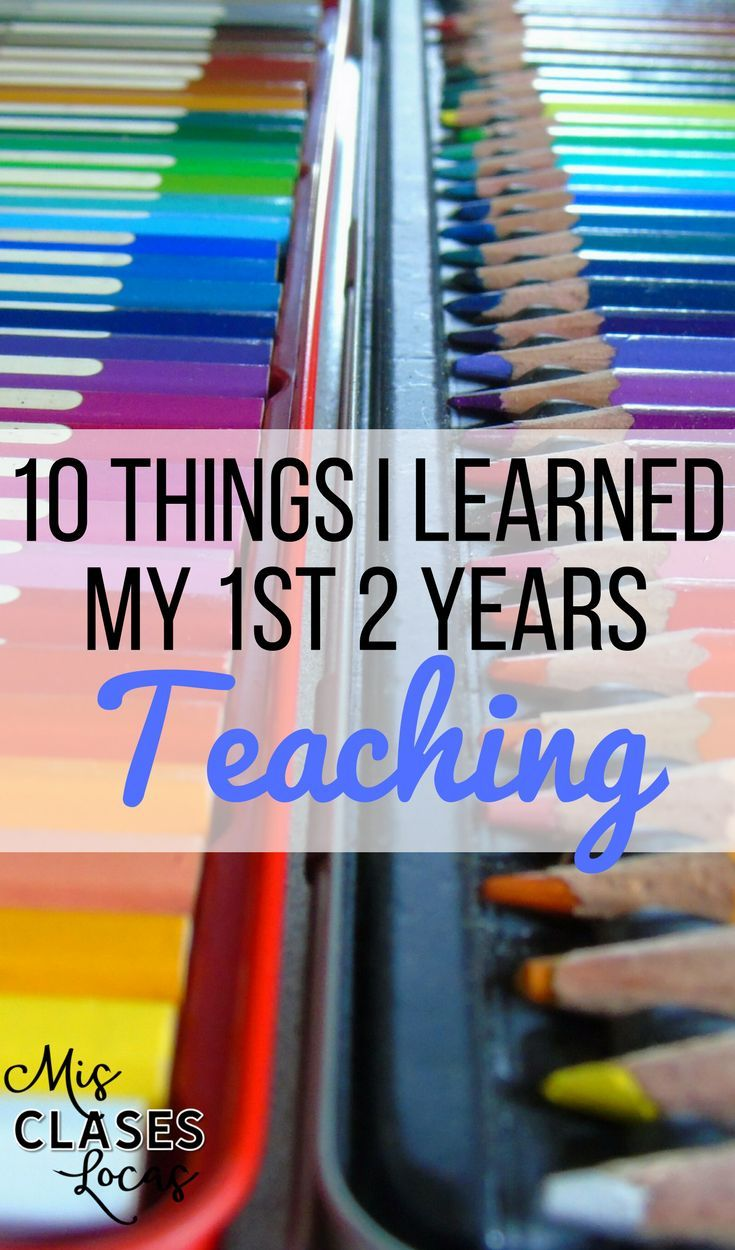 10 things I Learned my 1st 2 Years Teaching High School - Mis Clases Locas. Good tips to keep in mind! #teaching #education #teacherlife