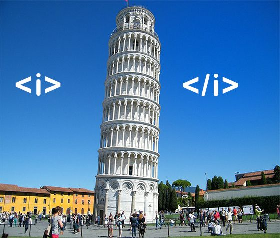Thats Leaning Tower of Pisa