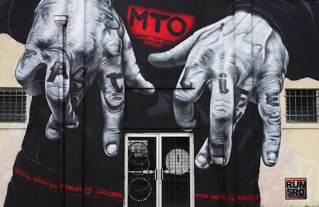 Streetart: New Mural by Berlin-based MTO in Rennes / France (3 Pictures + Clip) > Design und so, Illustrationen, Netzkram, Paintings, Streetstyle > france, ille, mto, murals, rennes, streetart, vilaine
