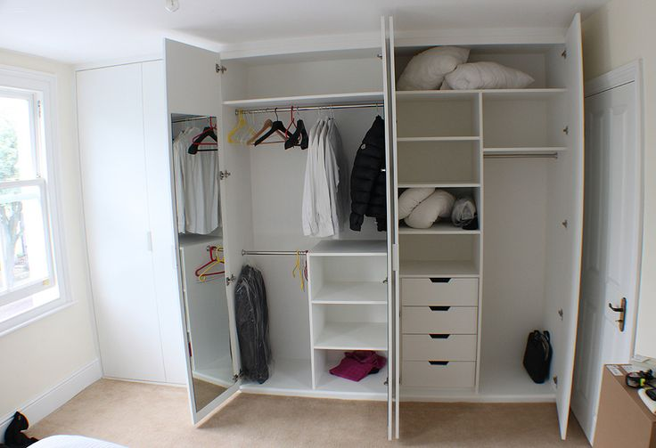 Full wall fitted wardrobe in Chiswick Hammersmith