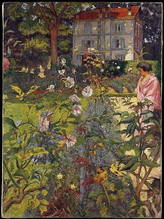 Edouard Vuillard, Garden at Vaucresson, 1920