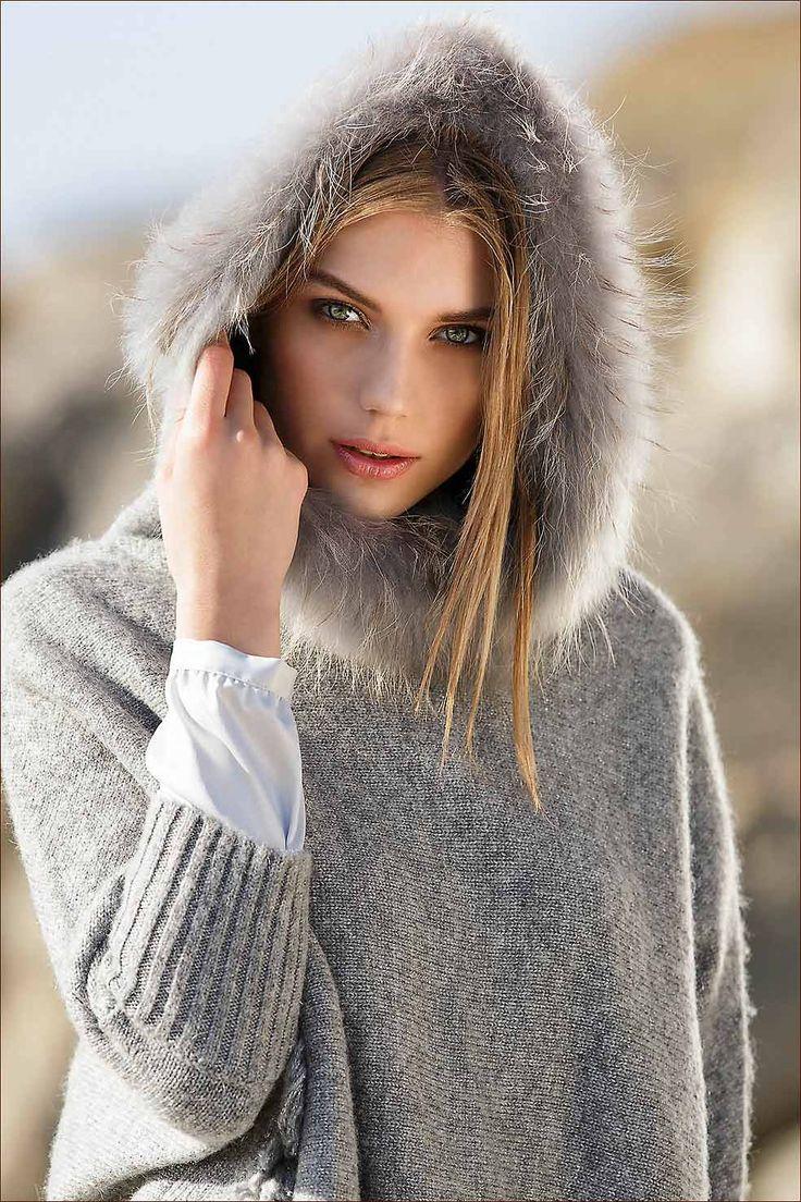 Senso: prachtige trui met kap
