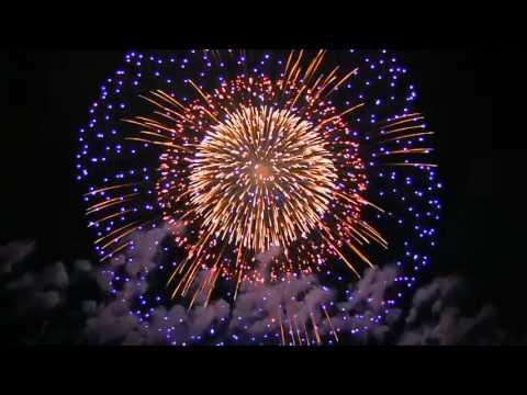 vuurwerk show in China - YouTube