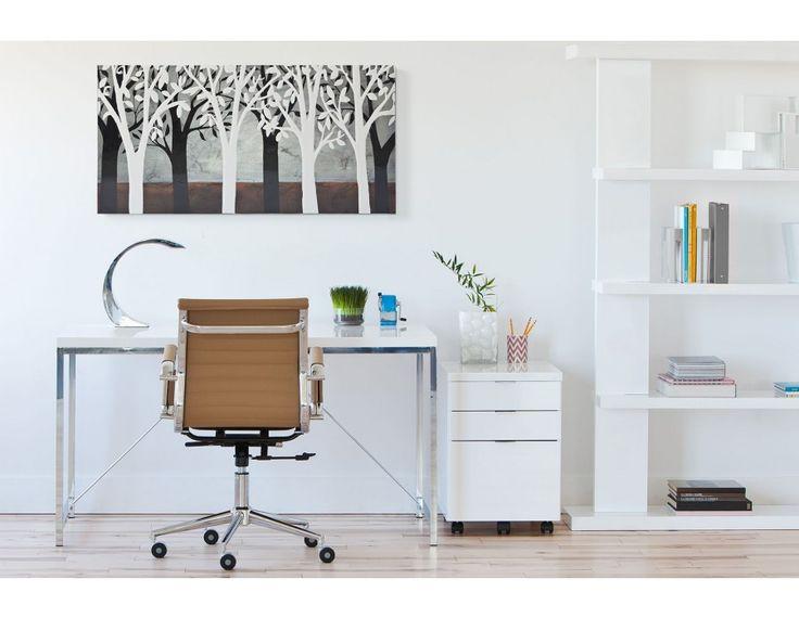 ENCORE - Desk 53'' - White