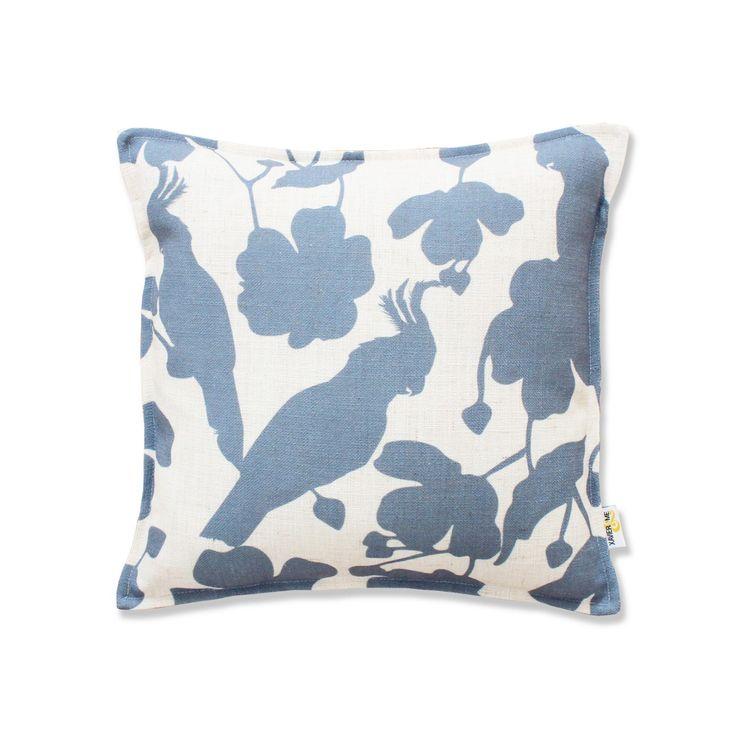 Tropical Cushion - Indigo Blue | $125.00
