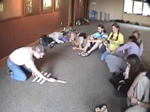 Hidden Numbers -- Duct Tape Teambuilding Game