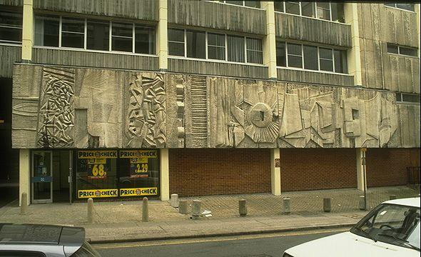 William Mitchel 1972 Burgess Street S1 London