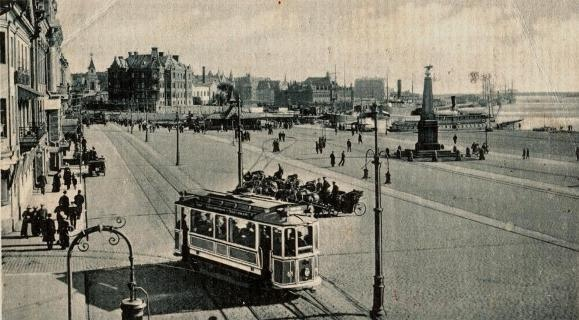 Helsinki Kauppatori 1916