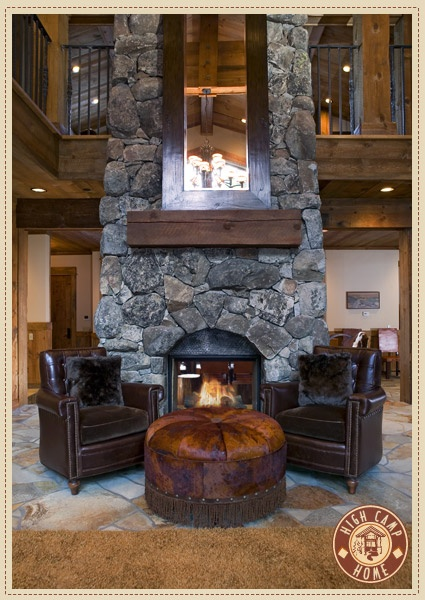 living room mantel decor tuscan style love the rustic fireplace with large mirror and leather ...