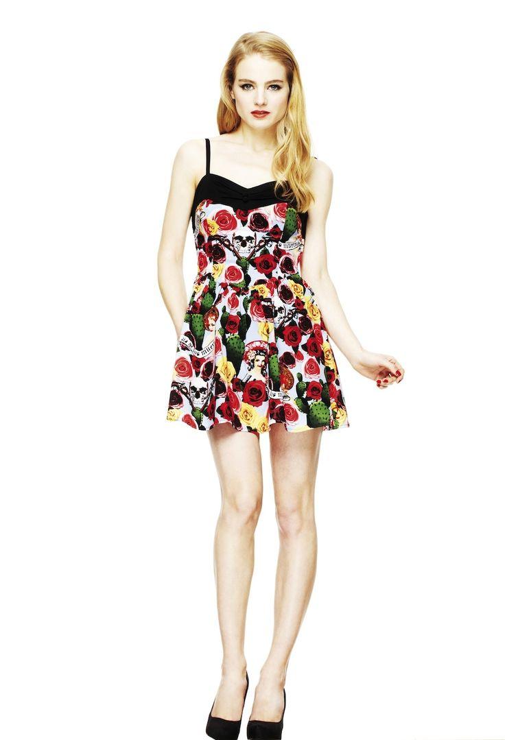 Hell Bunny Dresses - Cancun Dress - www.jackoflondon.co.uk