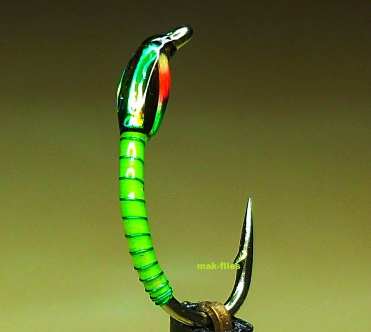 Glo-Brite Holographic Trout Buzzer by mak-flies 2014
