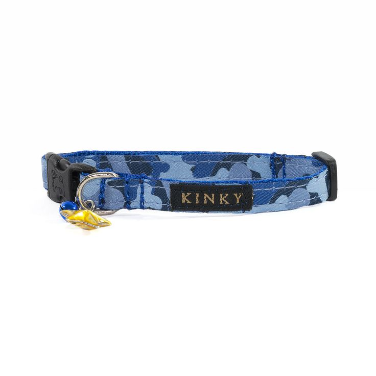 "Camouflage Bone Collection 3/8"" Collar for Cats & Dogs"