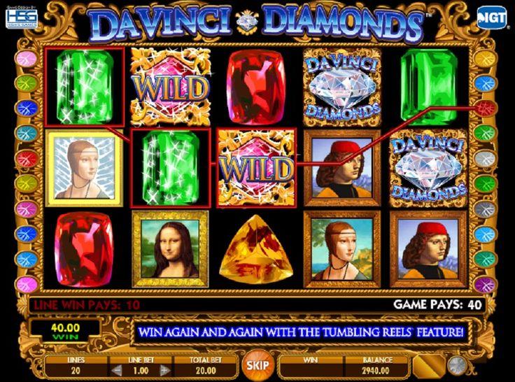 Slot maskinen Da Vinci Diamonds #jackpot #gratis #online #gratisspin #Kasino #Spilleautomatergratis