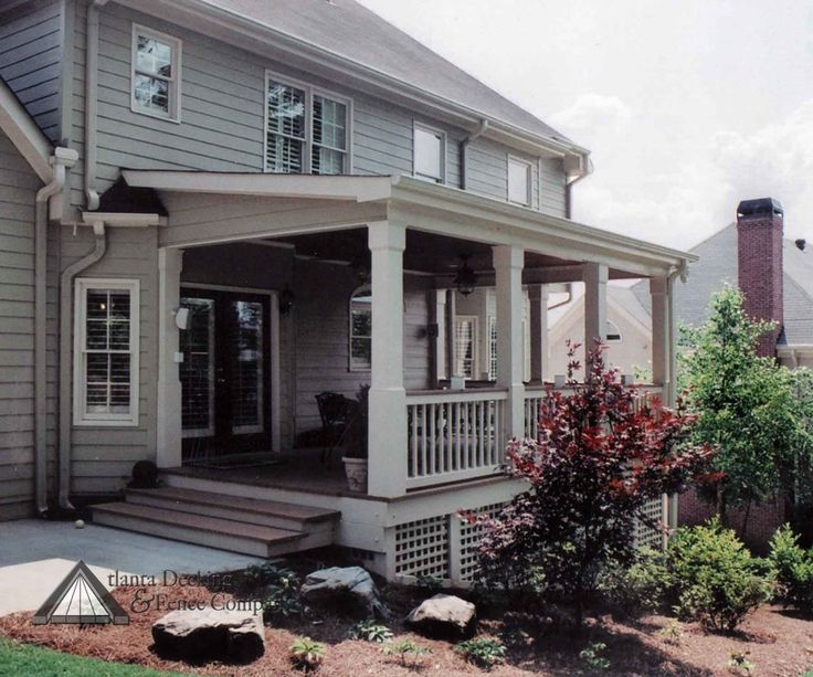 back porches pictures | Back Porches in Atlanta