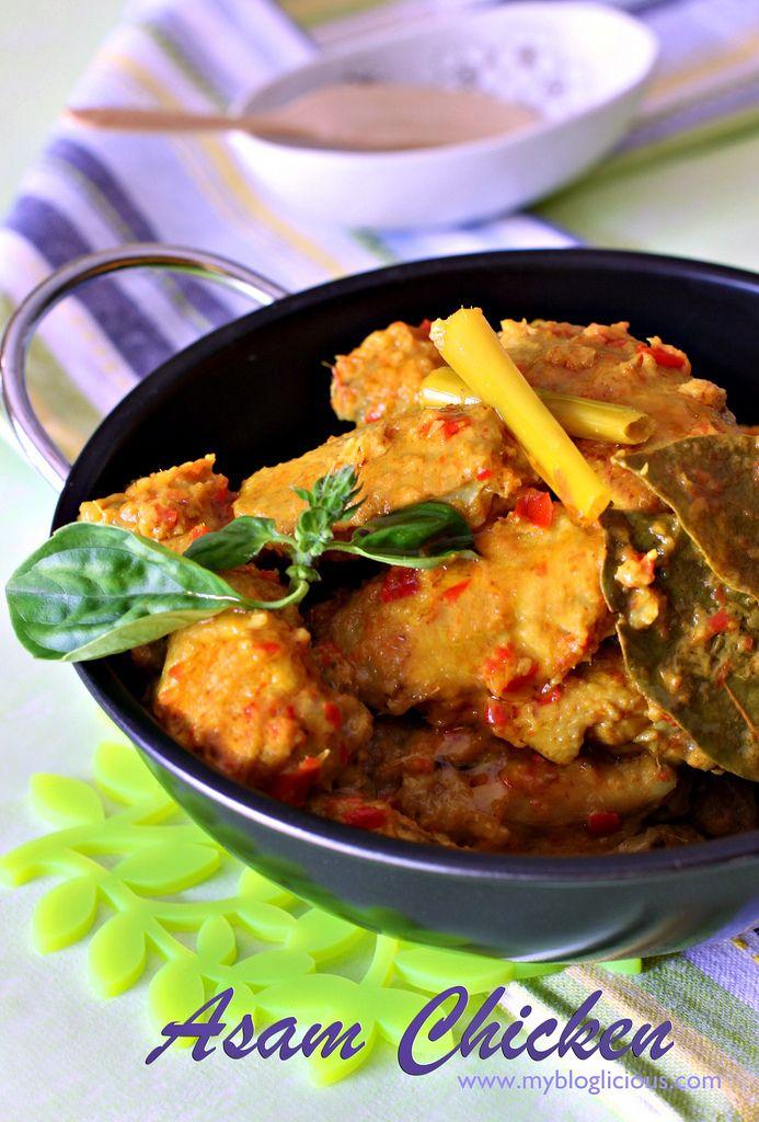 Peranakan (Nyonya) Asam Chicken by My Blogliciious