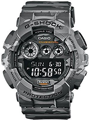 Casio GD-120CM-8E - Reloj (Pulsera, Masculino, Polymer, CR2025, 7 Año(s), 5,5 cm)