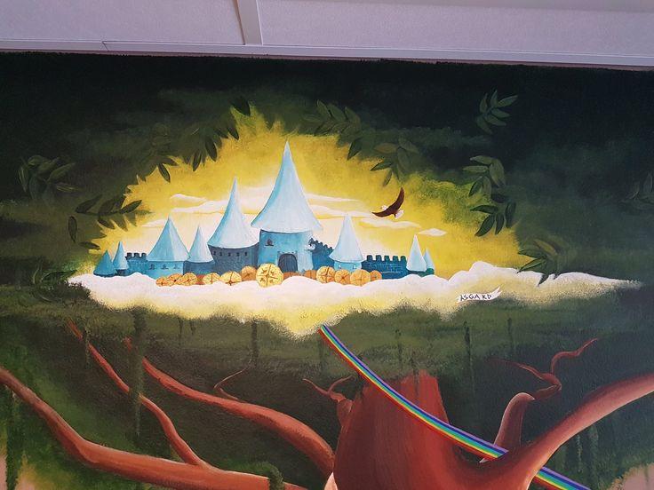 #mural#asgard#homeofthegods#norse#mythology