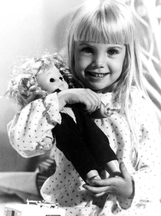 "Heather O'Rourke from ""Poltergeist"" (1982)"