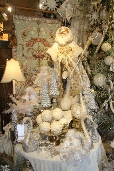 17 Best Images About Elegant Christmas Decor On Pinterest