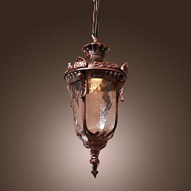 Antique+Inspired+Pendant+Light+with+1+Light+–+GBP+£+51.65