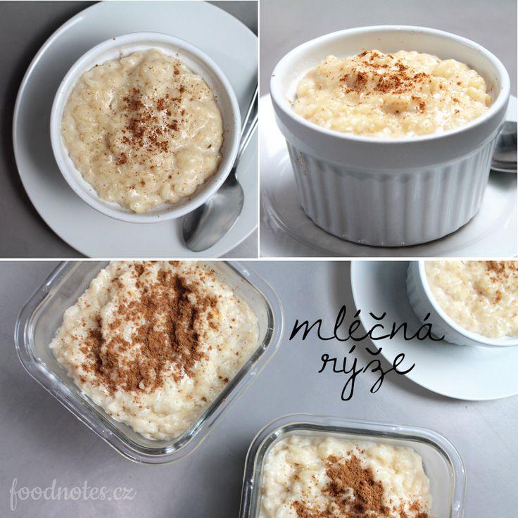 Jednoduchý recept na domácí mléčnou rýži/kaši
