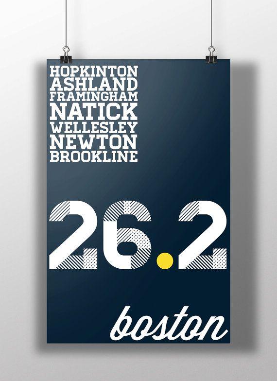 Boston Marathon Print