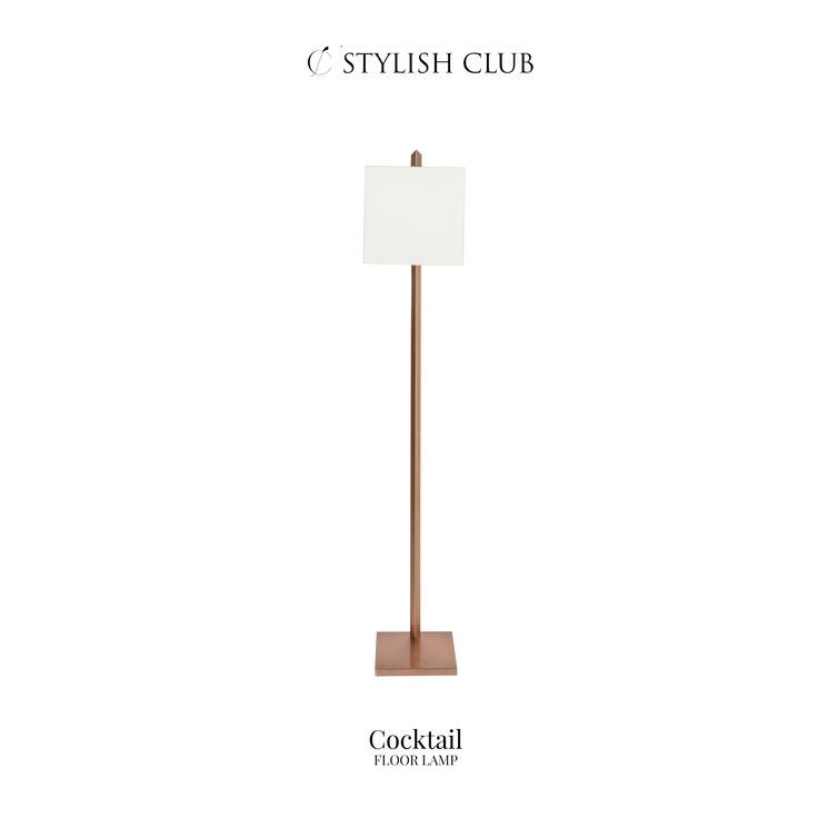 The best lighting solutions for the most luxurious interior spaces. One of them that can add that extra luxury into your home - the Cocktail floor lamp.