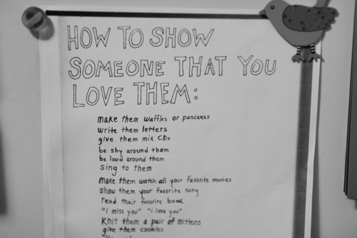 how to show someone that you love them | Quotes.Signs